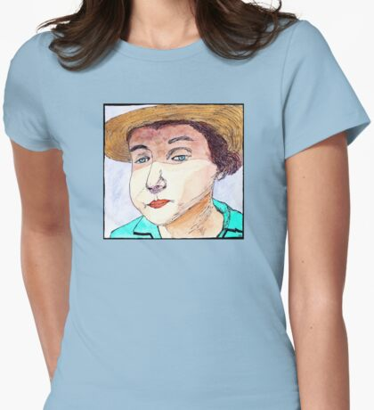 Elizabeth Bishop - Poet and Educator Womens Fitted T-Shirt