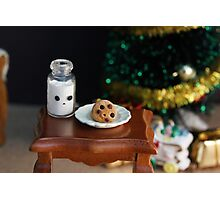 Cookies for Santa Photographic Print