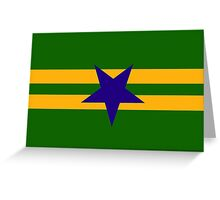 Browncoat (Independents) Flag - Inverted Star Greeting Card