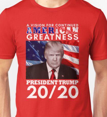 Trump 20/20 Unisex T-Shirt