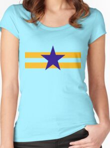 Browncoat (Independents) Flag Women's Fitted Scoop T-Shirt