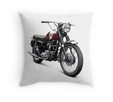 Triumph T120 Bonneville Throw Pillow