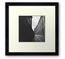 City of York Back Street Framed Print