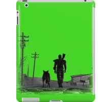 Fallout Wasteland Design Plain iPad Case/Skin