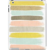 Madison - Brushstrokes in modern and bright happy color palette iPad Case/Skin