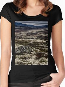 Rondane National Park, Norway. Women's Fitted Scoop T-Shirt