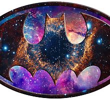 Galaxy Batman by Rachael Burriss