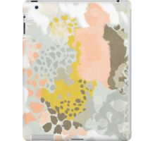 Upton - Modern abstract painting in bright and colors that pop but soothe iPad Case/Skin