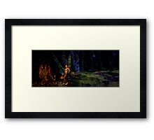 Two Worlds - James Pierce Collab. Framed Print