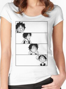 Monkey D. Luffy Women's Fitted Scoop T-Shirt