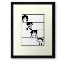 Monkey D. Luffy Framed Print