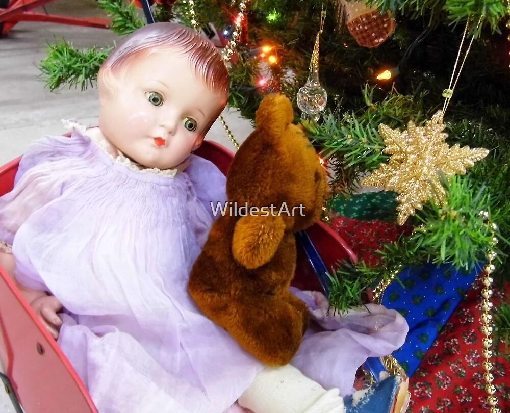 Vintage Christmas by WildestArt