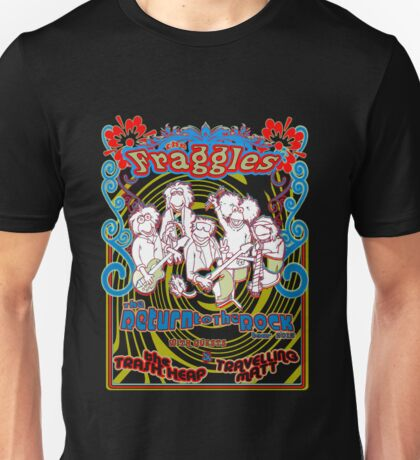 Fraggles - return to the rock tour Tee Unisex T-Shirt