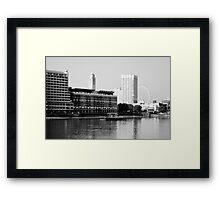 Oxo Tower Framed Print
