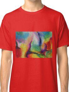 """A Destra"" original abstract artwork by Laura Tozer Classic T-Shirt"
