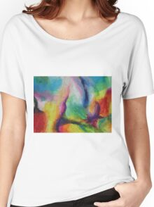 """A Destra"" original abstract artwork by Laura Tozer Women's Relaxed Fit T-Shirt"