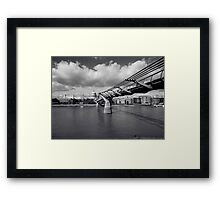 Millenium Bridge Framed Print