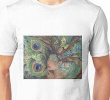 Green Lady Nature Goddess fairy art  Unisex T-Shirt