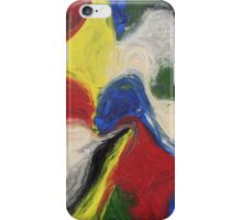 """Exuberance"" original abstract artwork by Laura Tozer iPhone Case/Skin"