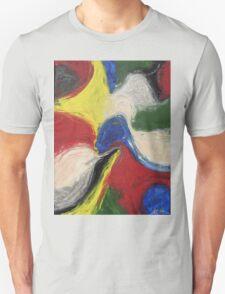 """Exuberance"" original abstract artwork by Laura Tozer T-Shirt"