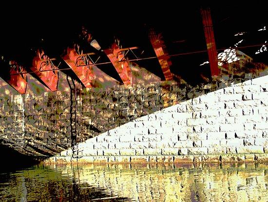 "under the bridge # 2 - "" six girders "" by mick8585"