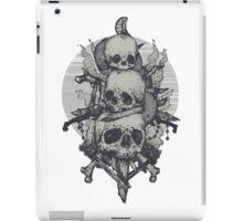 3 Skulls iPad Case/Skin