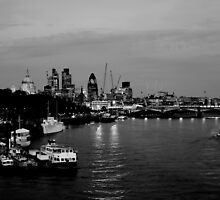 City of London by deejaypow