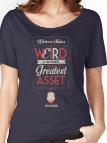 Whatever Makes You Weird Women's Relaxed Fit T-Shirt
