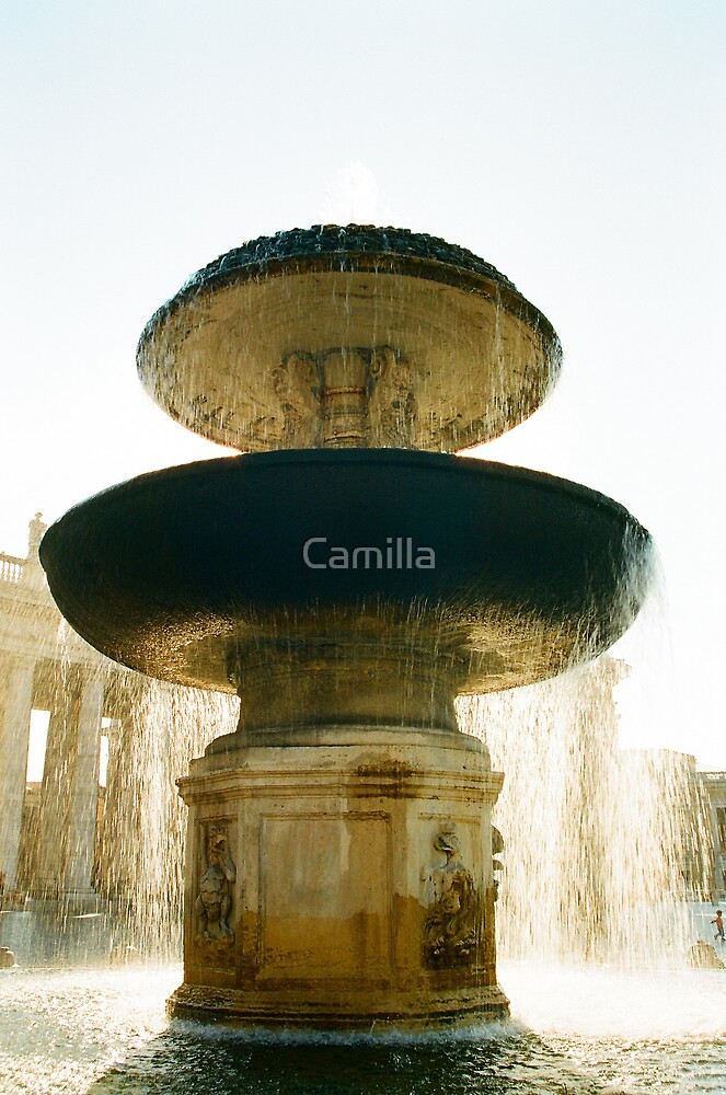 San Pietro's Fountain by Camilla