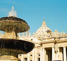 San Pietro's Fountain II by Camilla