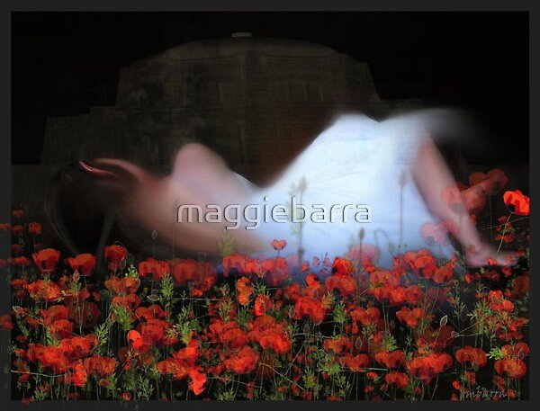 In Poppy Fields I Lie by maggiebarra