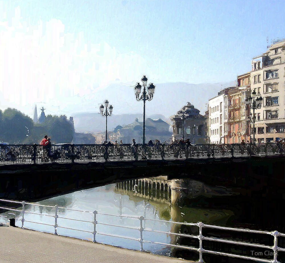 Bilbao Old Bridge by Tom Clark