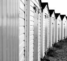 Beach Huts by deejaypow