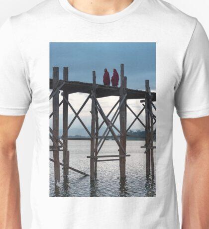 U Bein Bridge, Amarapura Unisex T-Shirt