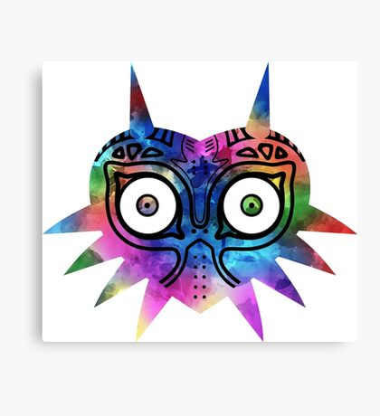 Majora's Mask Color Canvas Print