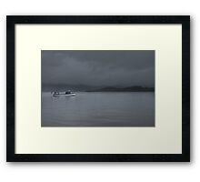 Mist over Loch Lomond  Framed Print