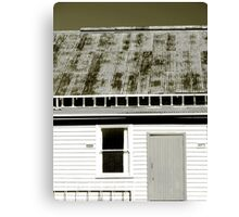 the community hall Canvas Print