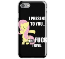 Fluttershy's Fucks iPhone Case/Skin