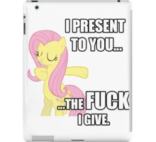 Fluttershy's Fucks iPad Case/Skin