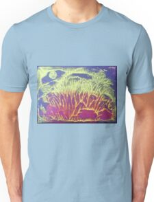 """Moonlit Forest"" original abstract artwork by Laura Tozer Unisex T-Shirt"