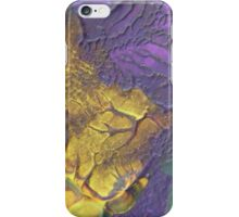 """Deeply Rooted"" original abstract artwork by Laura Tozer iPhone Case/Skin"