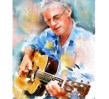 My guitar buddy by Tom Godfrey