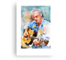 My guitar buddy Canvas Print