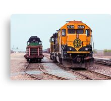 Trains - Size Matters Canvas Print