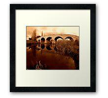 Richmond Bridge, Tasmania... Framed Print