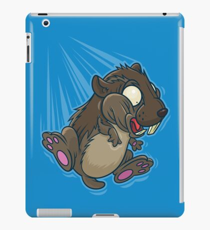 Lemming Base Jumping iPad Case/Skin