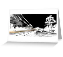 The Approach... Greeting Card