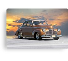 1941 Chevrolet Master Deluxe Coupe II Metal Print