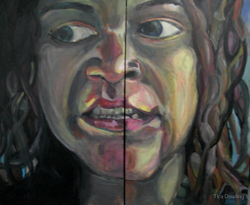 self portrait  by Tira Dowling