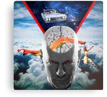 Mental Floss (Staring Bruce Willis) Metal Print